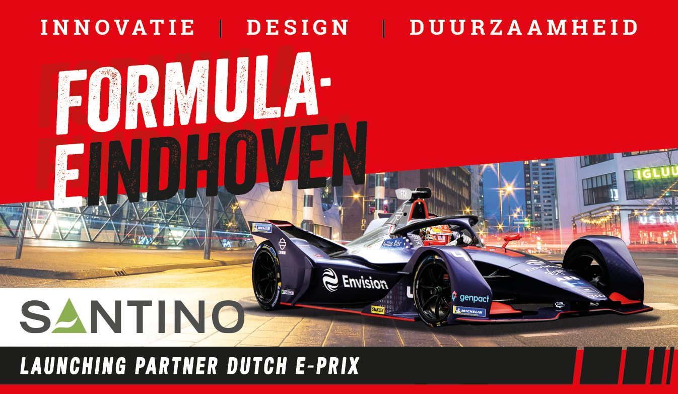 Santino launching partner van Formula-E